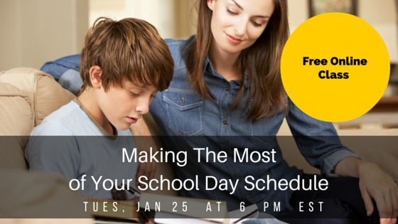 Making The Most of Your School Day Schedule